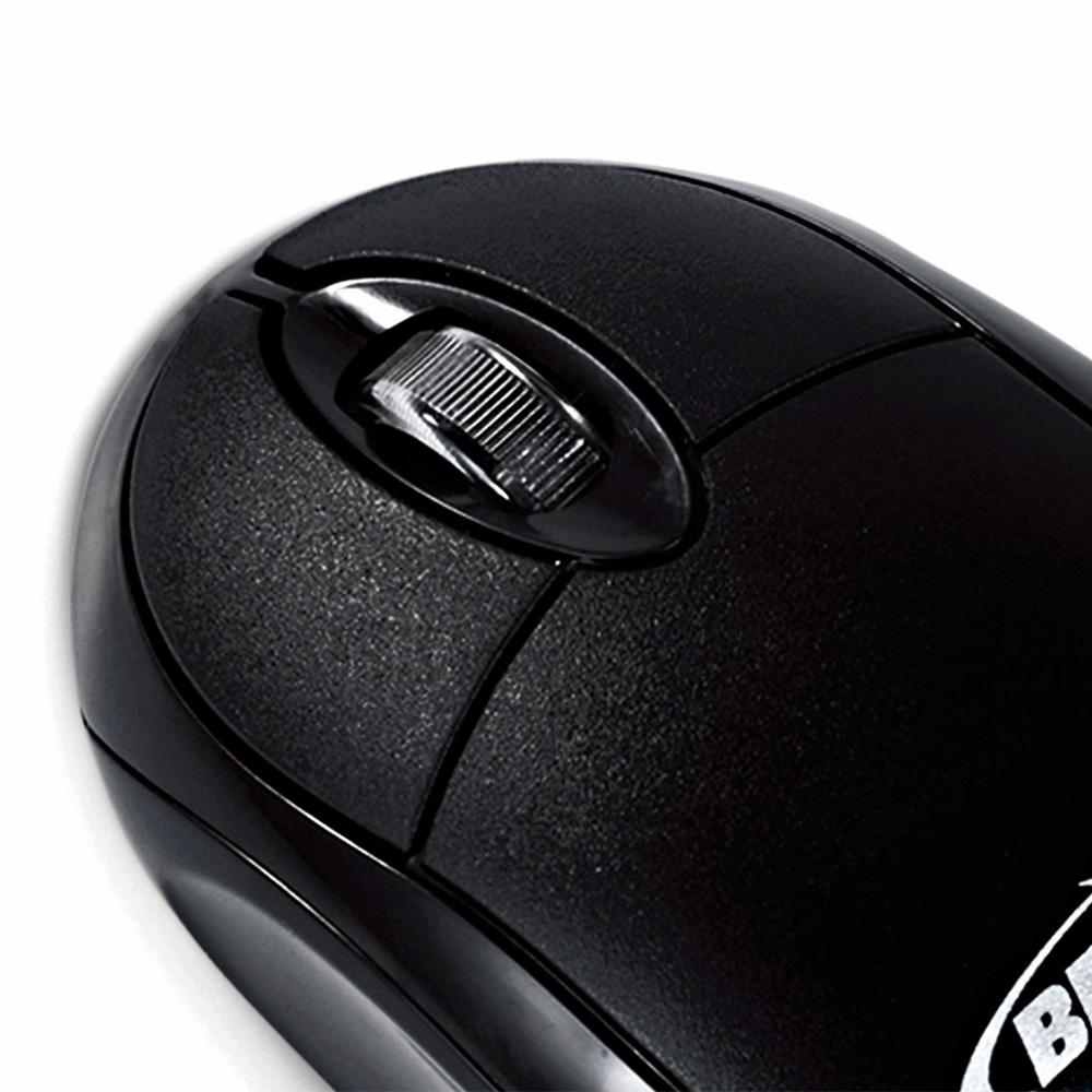Mouse Óptico Bright 0106 USB Preto
