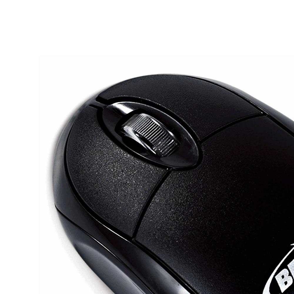 Mouse Óptico Bright Espanha Preto PS2 - 0012