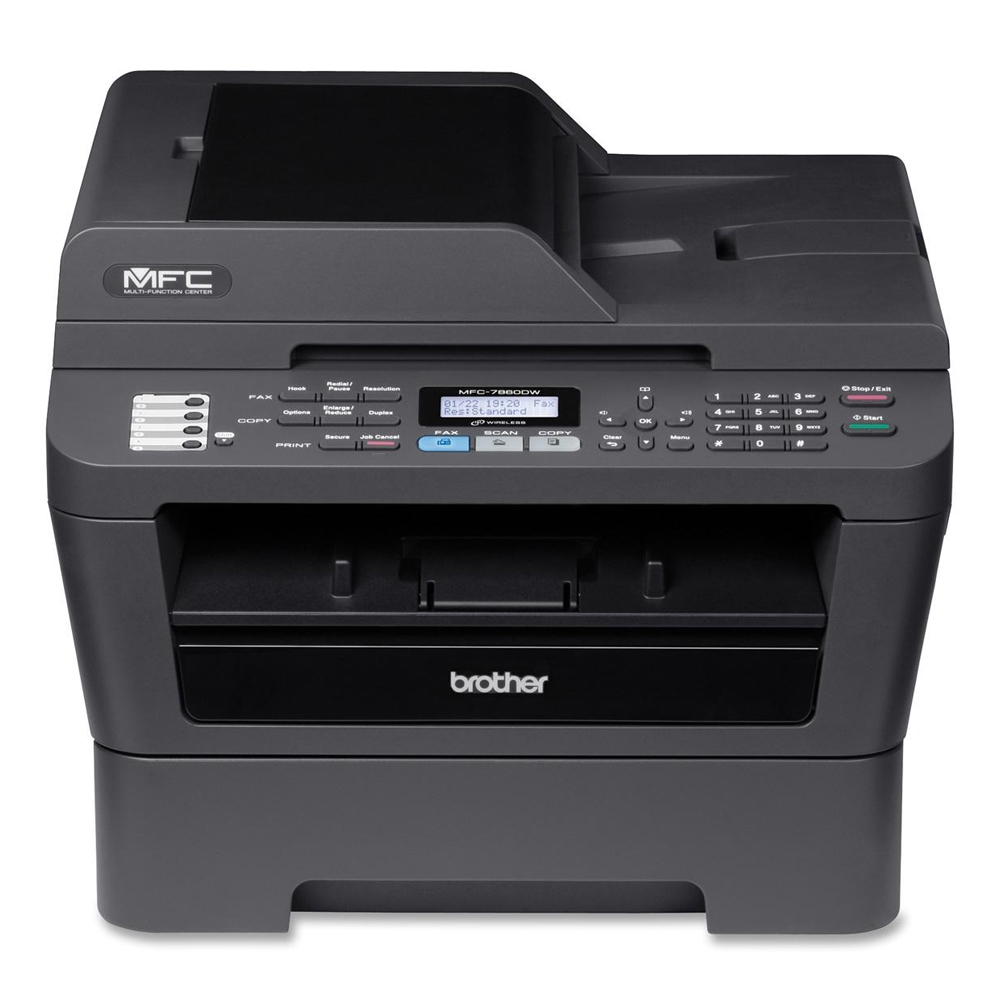 BROTHER PRINTER MFC 7860DW DRIVER