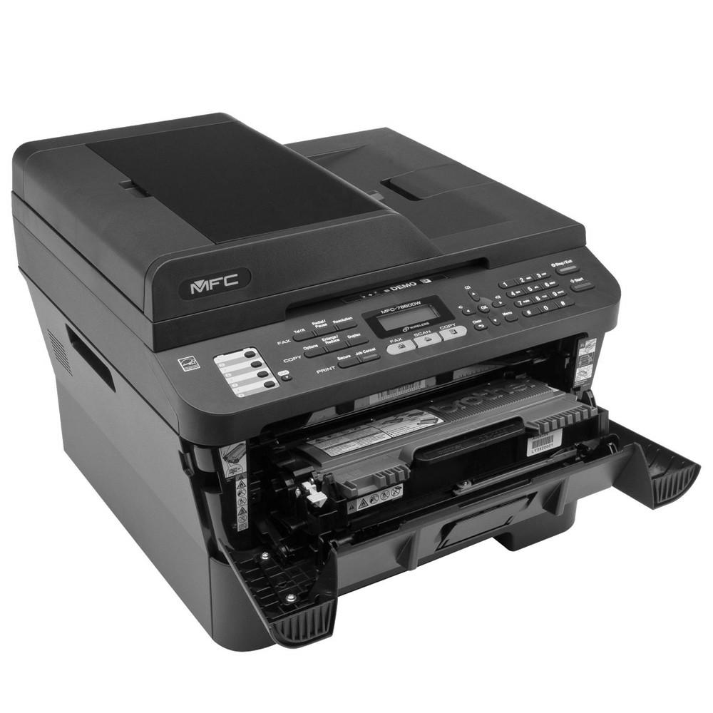 Multifuncional Brother LaserJet MFC-7860DW Mono Duplex/ Wireless