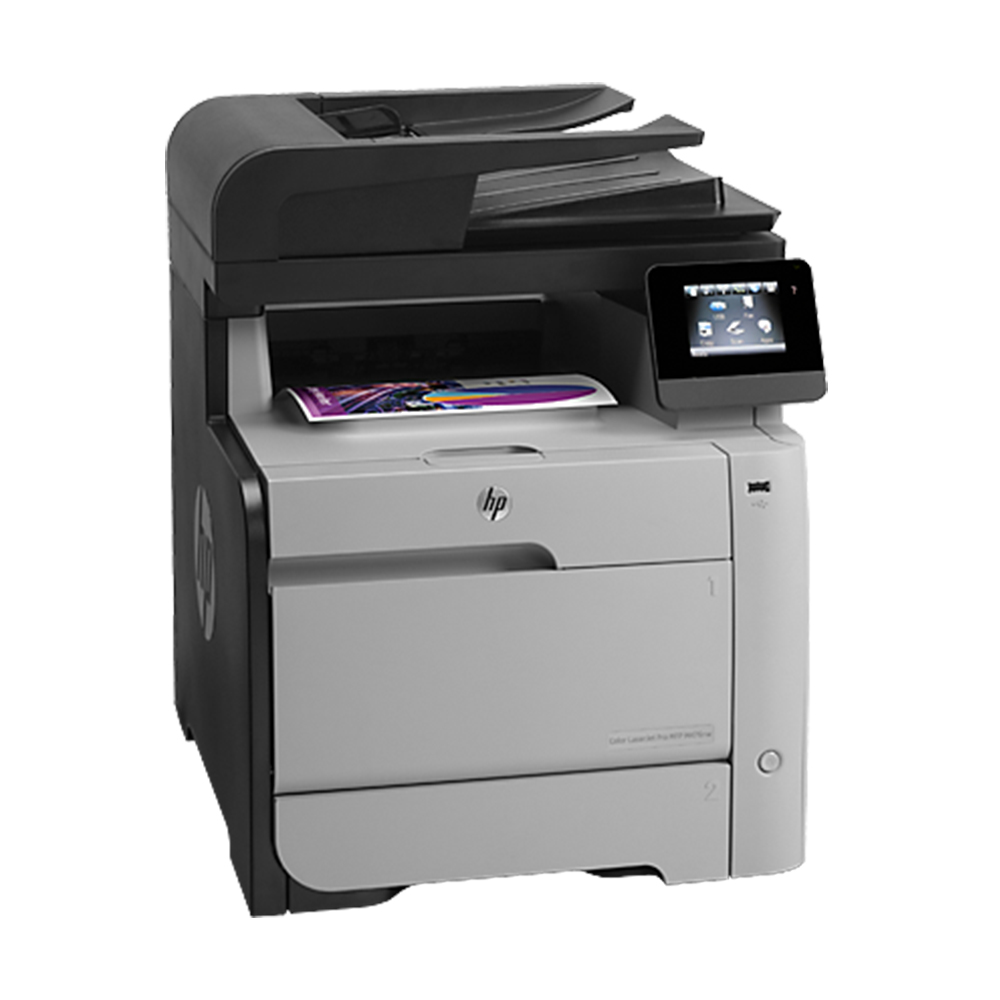 Multifuncional HP LaserJet Pro M476NW Color CF385A Wireless e Fax - Seminova