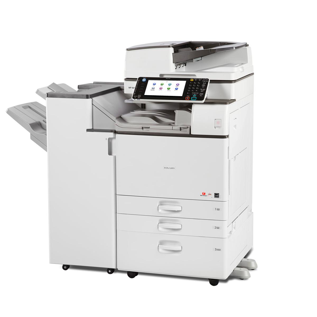 Multifuncional Ricoh Aficio MP C2003 Laser Color A3 | Duplex | Rede