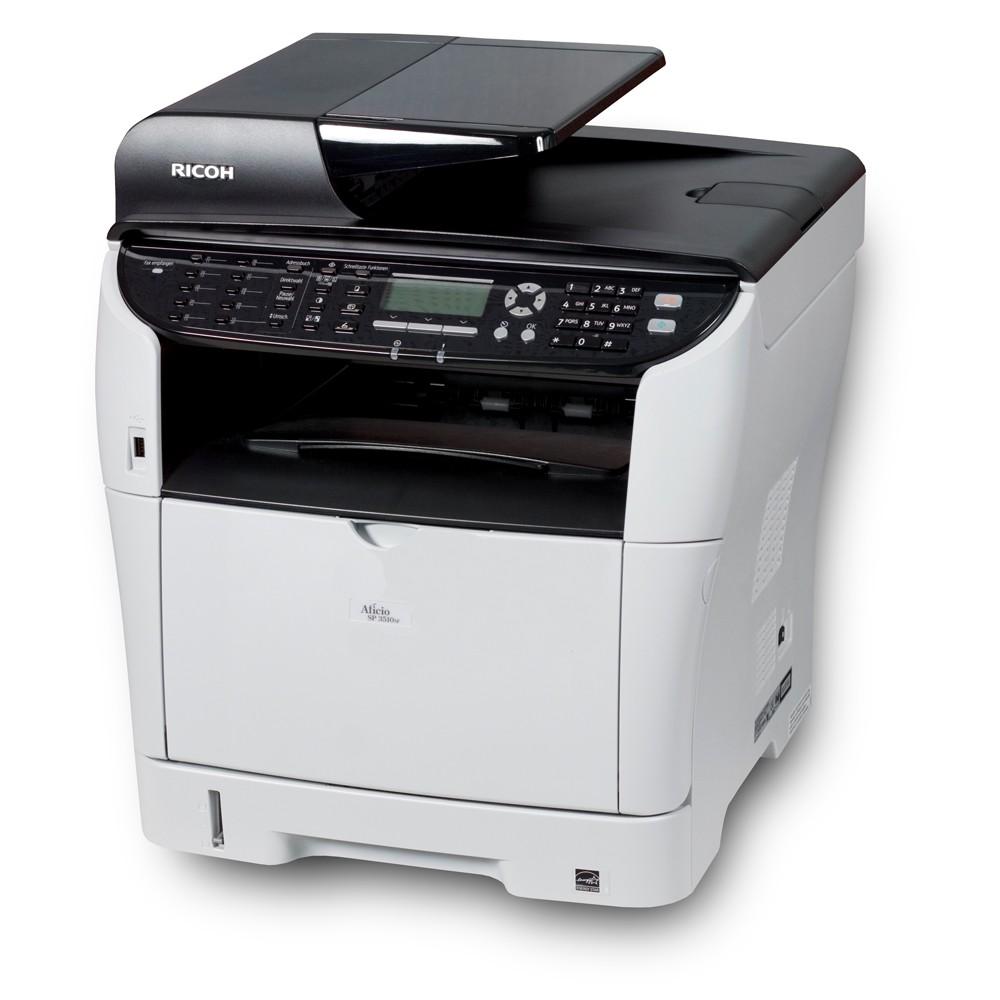 Multifuncional Ricoh Aficio SP 3510SF Laser Mono   Seminova + Toner - Loja  Casa Print ... f0e2e0e09b