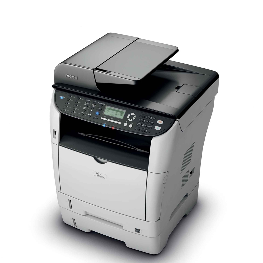 ... Multifuncional Ricoh Aficio SP 3510SF Laser Mono   Seminova + Toner -  Loja Casa Print ... efa8ca0a45