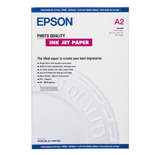 Papel Especial Epson SO41079 - Photo Quality Ink Jet Paper - 30 Fls