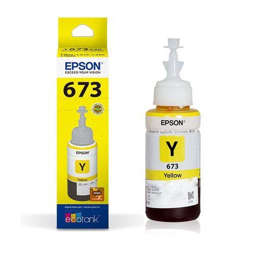 Refil de Tinta Epson Original T673420 Yellow