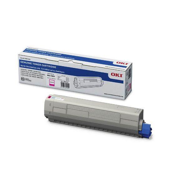 Toner Okidata Original 44844510 Magenta | C831 C831N 831 831N