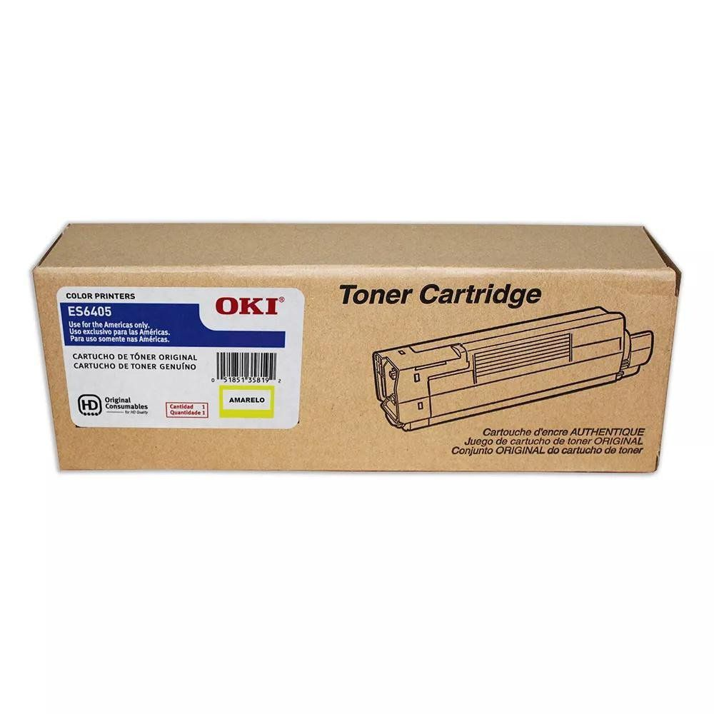 Toner Original Okidata ES6405 44315341 Yellow