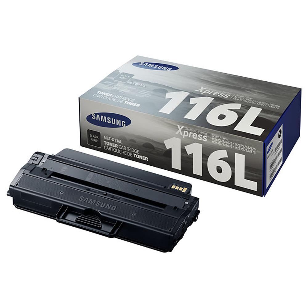 Toner Samsung Original MLT-D116L Black | Xpress M2625 | M2825 | M2885