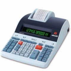 Calculadora de Mesa LOGOS 804T Térmica de 14 Dígitos, Bobina, Visor LCD BackLit 2 cores, Bivolt Olivetti