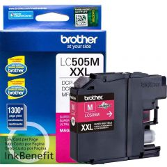 Cartucho de Tinta Brother LC505M Magenta Ultra Rendimento
