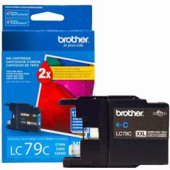 Cartucho de Tinta Brother LC79C Ciano Alto Rendimento