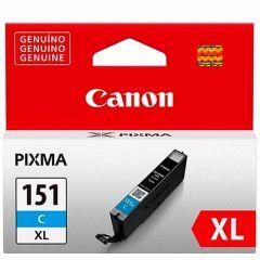 Cartucho de Tinta Canon CLI151CXL Ciano Alto Rendimento