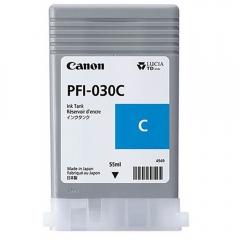 Cartucho de Tinta Canon PFI030C Ciano p/ Plotter