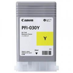 Cartucho de Tinta Canon PFI030Y Amarelo p/ Plotter