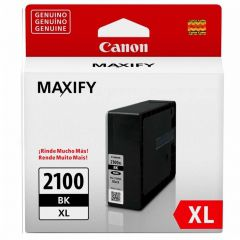 Cartucho de Tinta Canon PGI2100BKXL Preto Alto Rendimento