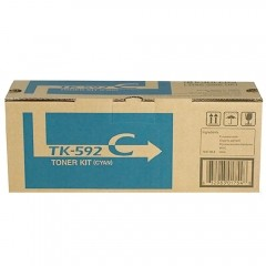 Cartucho de Toner Kyocera TK592C Ciano