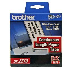 Etiqueta Contínua DK2210 29mm X 30,48m Brother