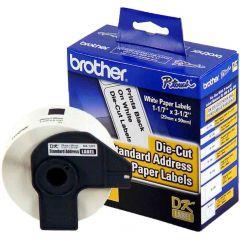 Etiqueta de Endereço Padrão DK1201 29x90mm rolo c/ 400 unds Brother
