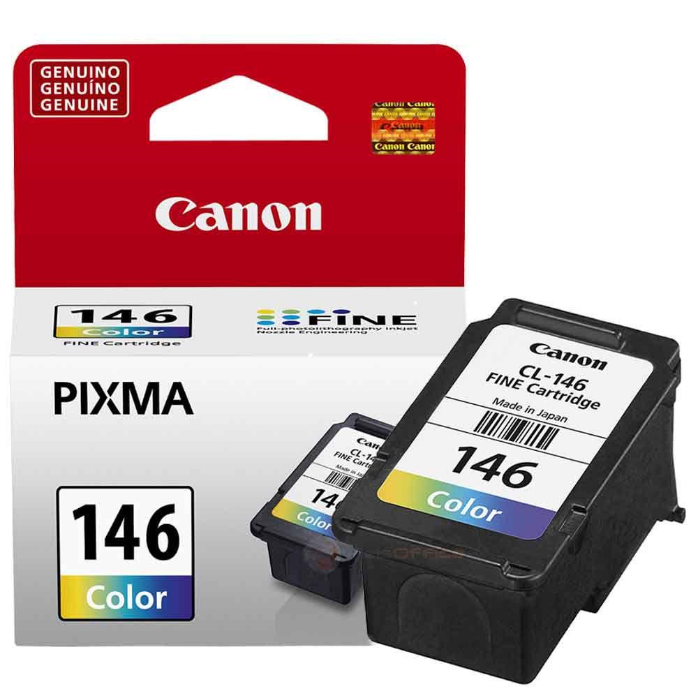 Cartucho de Tinta Canon CL146 Colorido 9ml