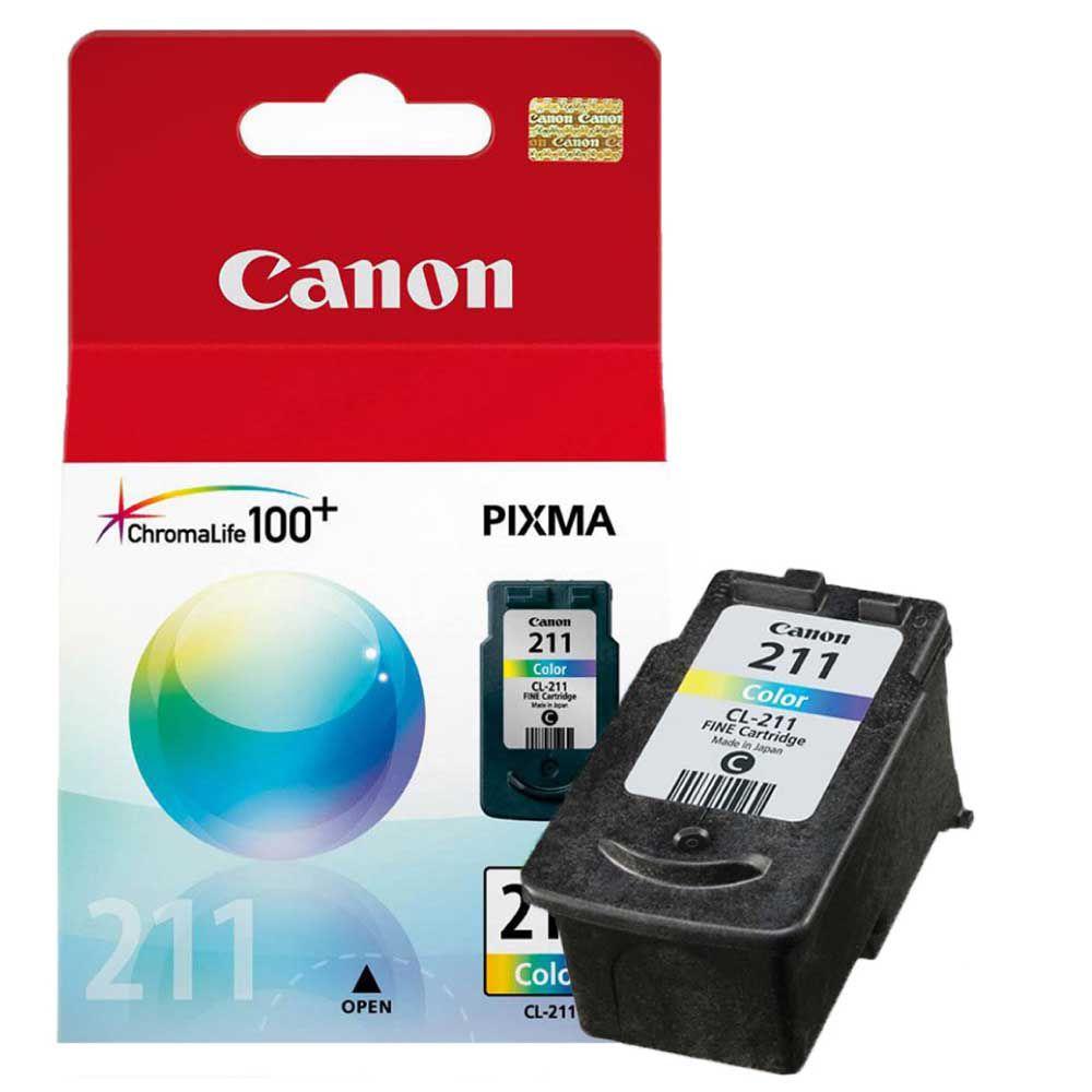 Cartucho de Tinta Canon CL211C Colorido