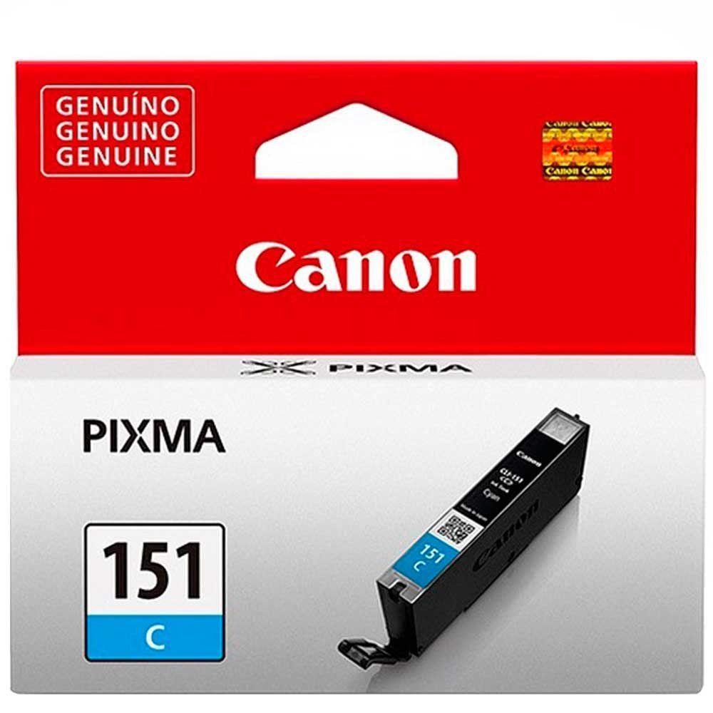 Cartucho de Tinta Canon CLI151C Ciano