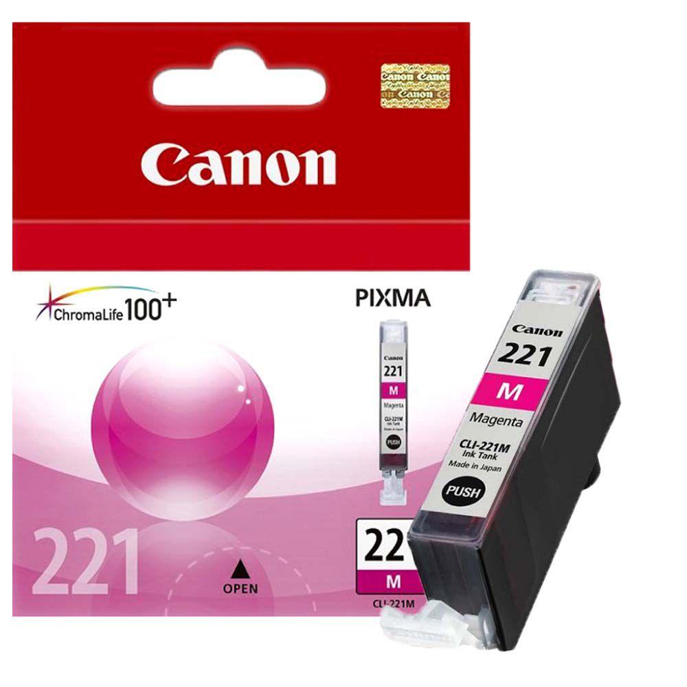 Cartucho de Tinta Canon CLI221M Magenta