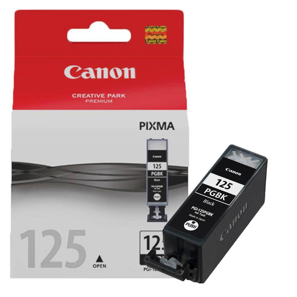 Cartucho de Tinta Canon PGI125BK Preto