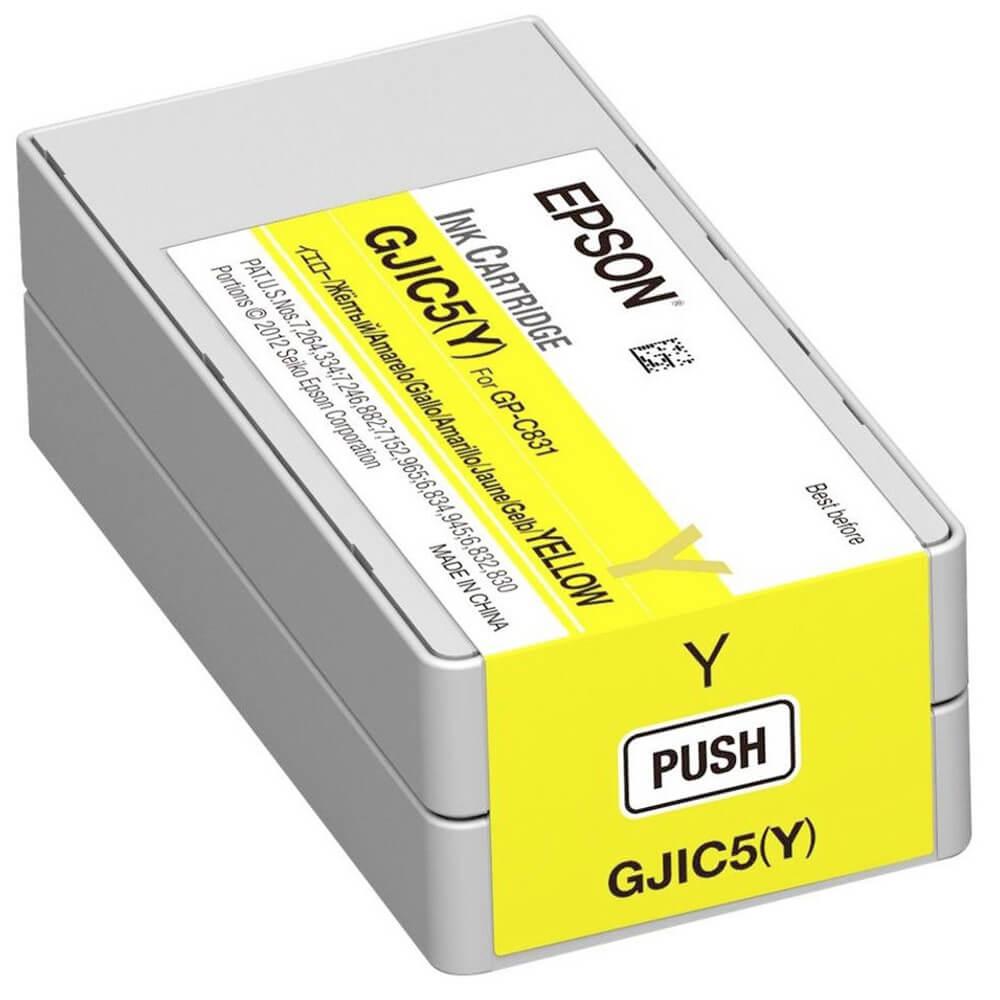 Cartucho de Tinta Epson C13S020566 GJIC5Y Amarelo