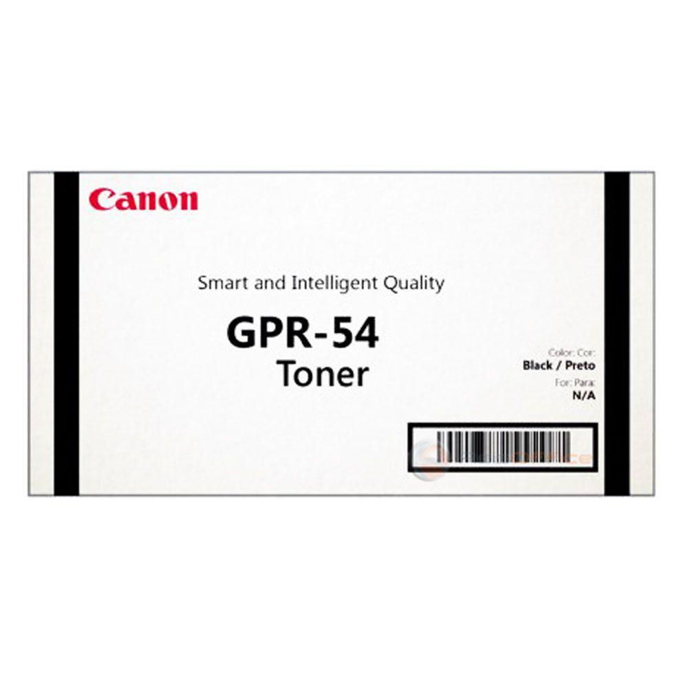 Cartucho de Toner Canon GPR 54 Preto