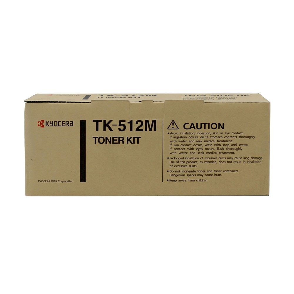 Cartucho de Toner Kyocera TK512M Magenta