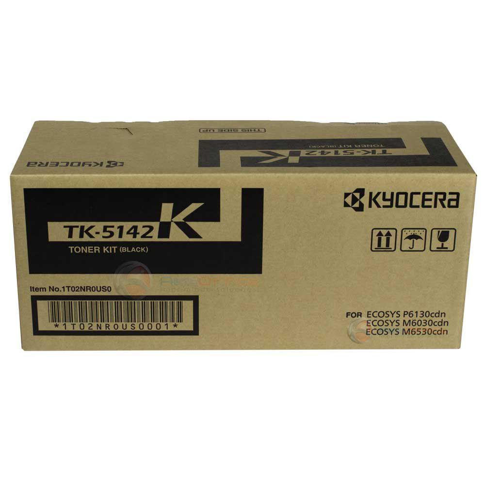 Cartucho de Toner Kyocera TK5142K Preto