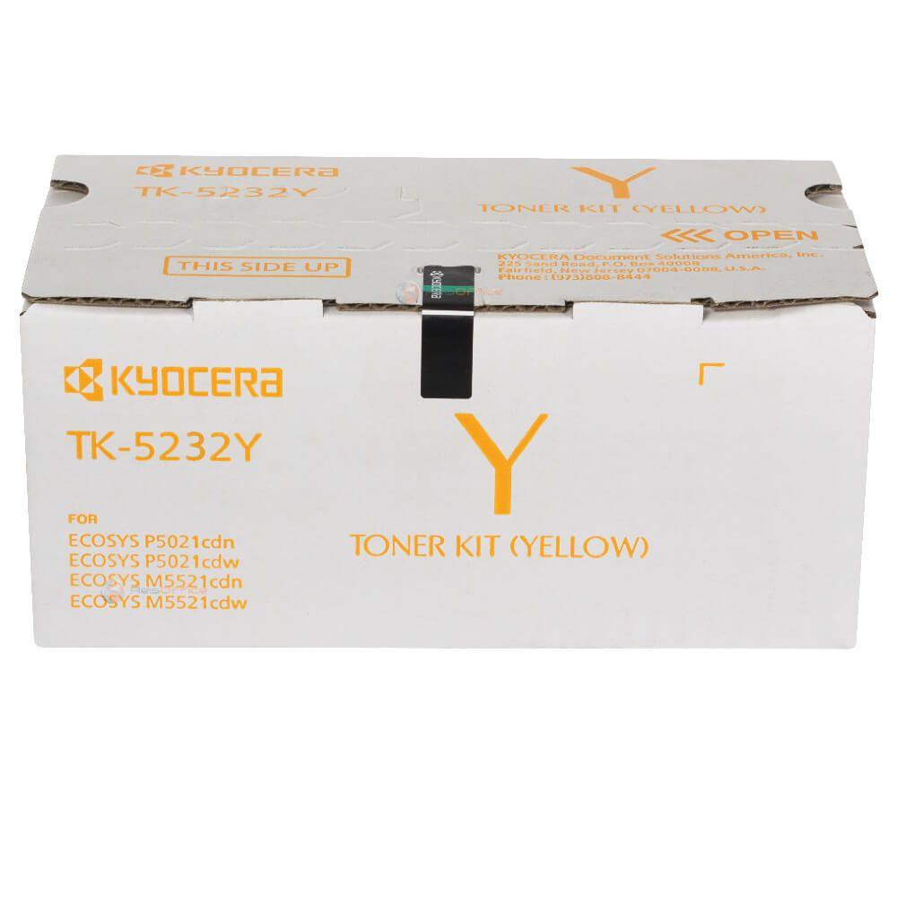 Cartucho de Toner Kyocera TK5232Y Amarelo