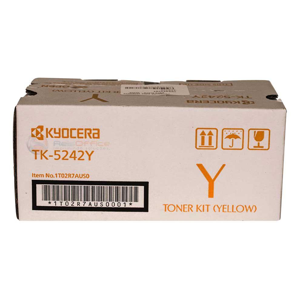 Cartucho de Toner Kyocera TK5242Y Amarelo