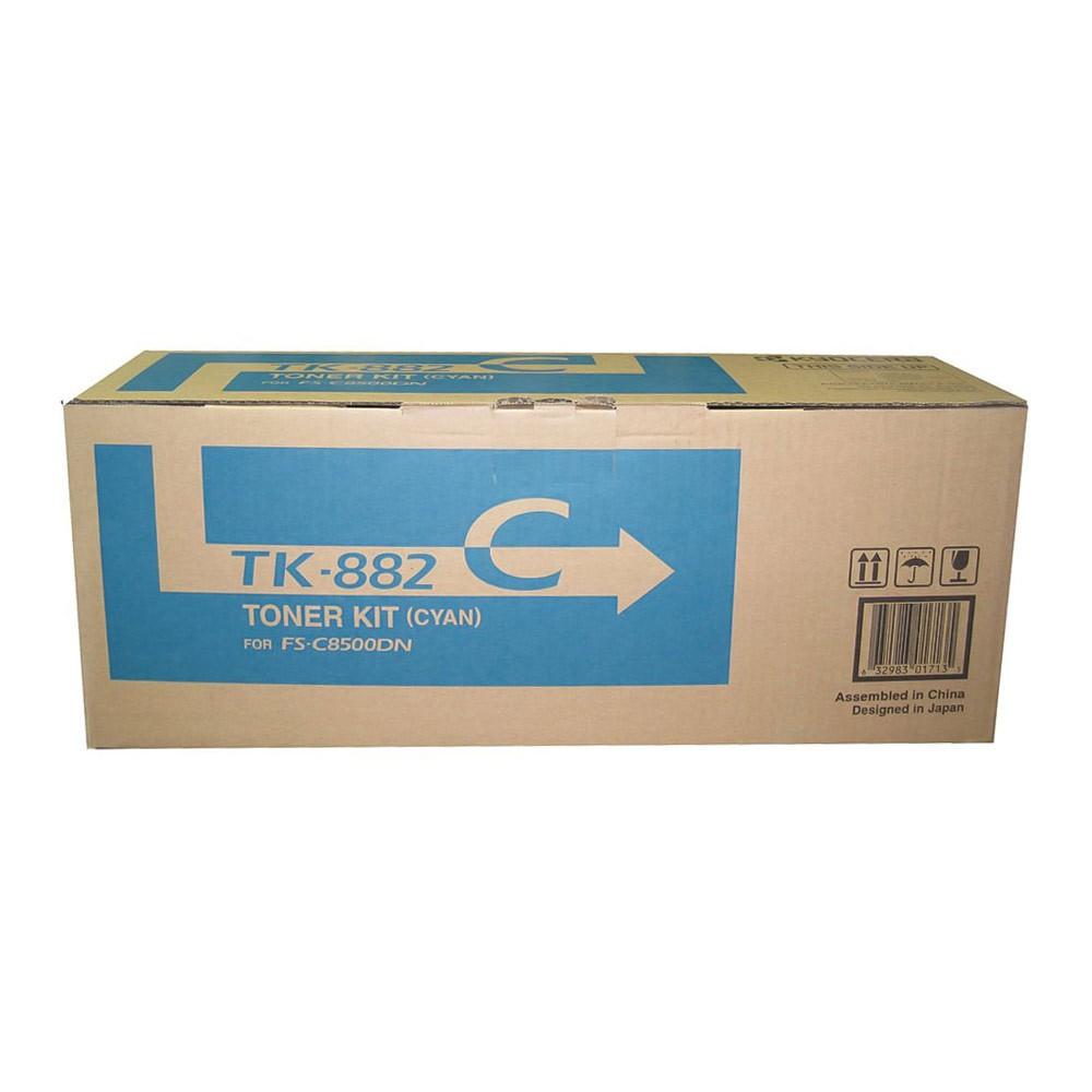 Cartucho de Toner Kyocera TK882C - Ciano