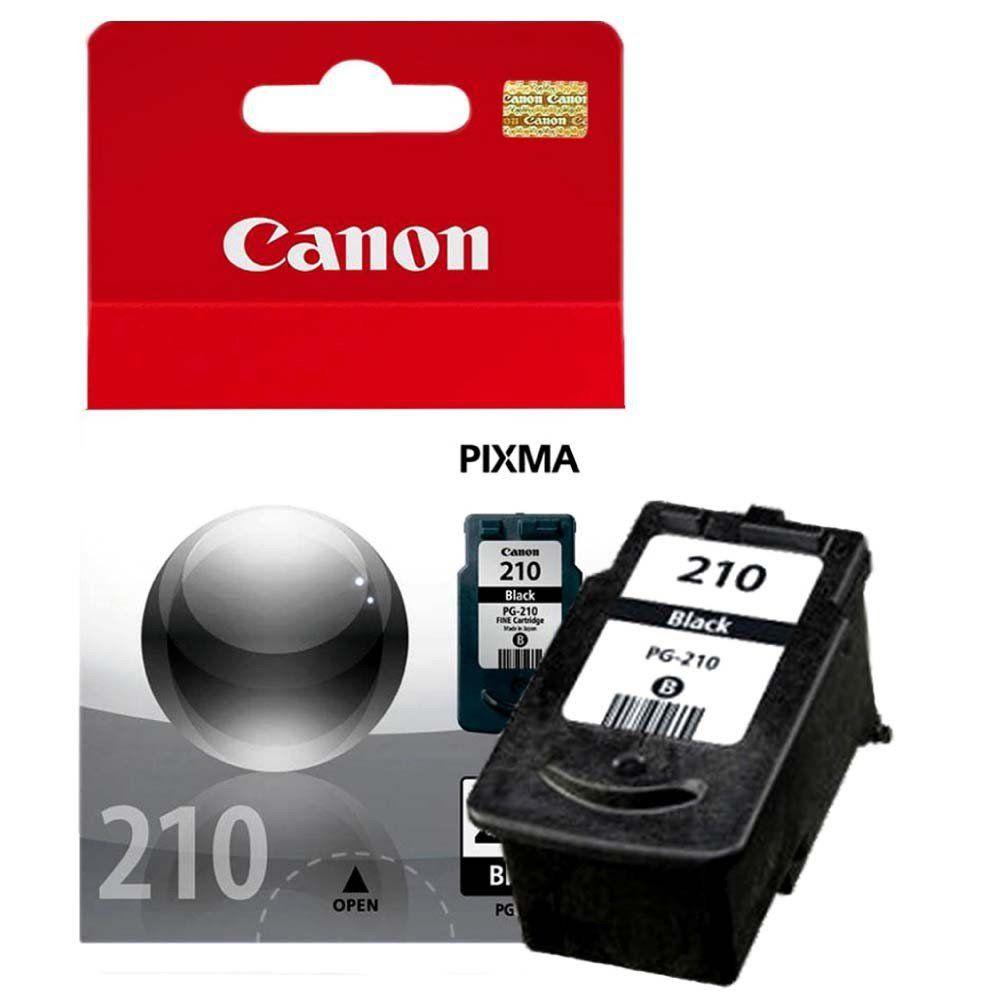 Cartucho de Tinta Canon PG210BK Preto
