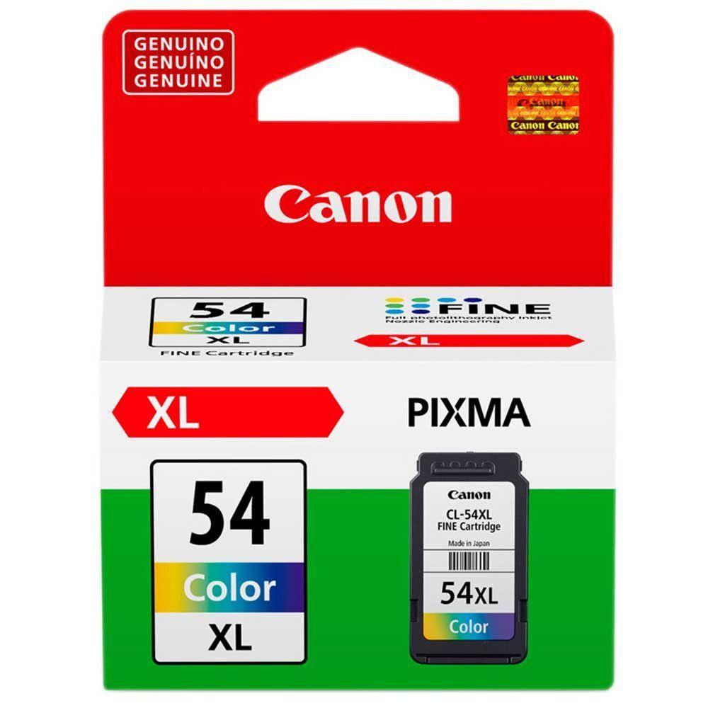 Cartucho de Tinta Canon CL54XL Colorido Alto Rendimento