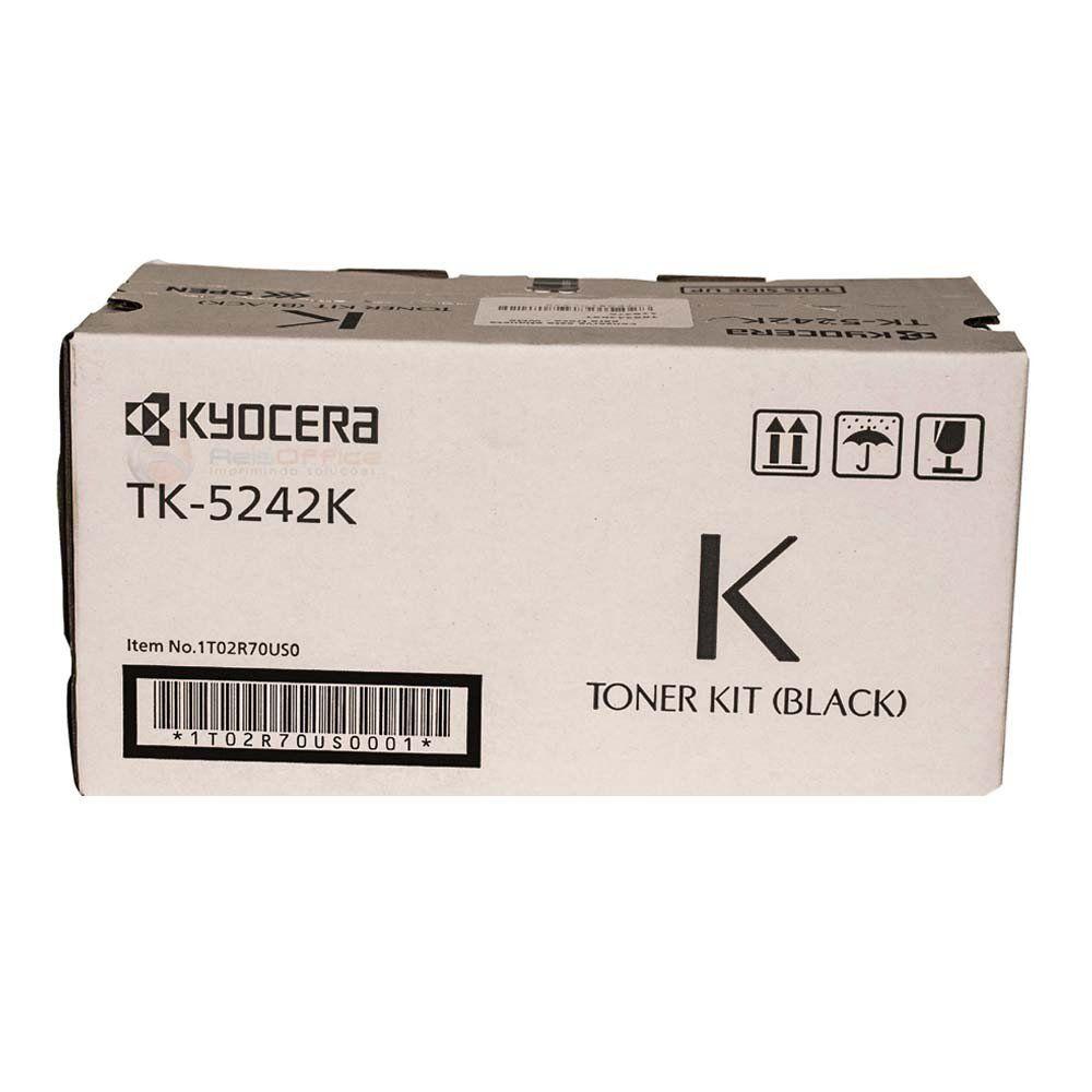 Cartucho de Toner Kyocera TK5242K Preto