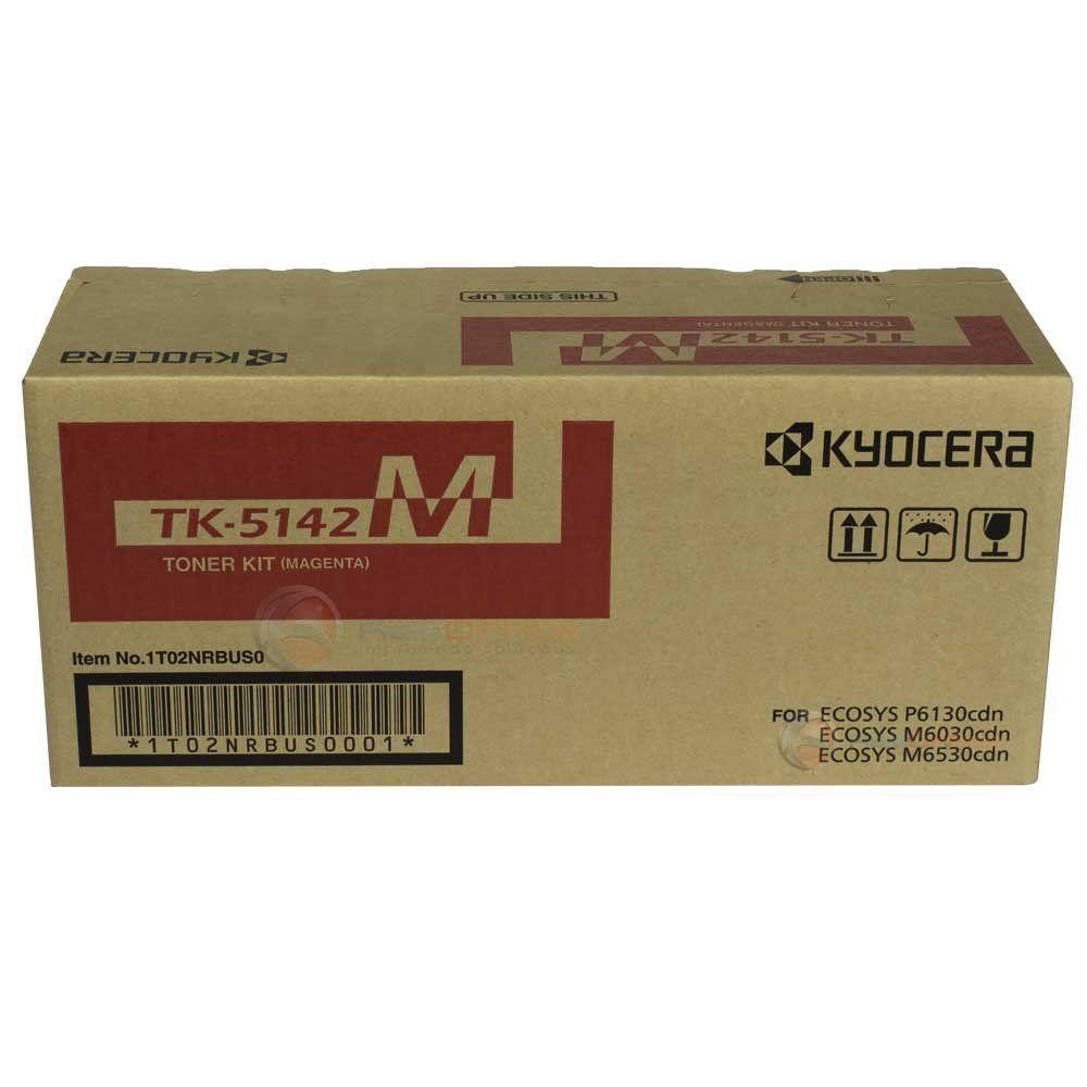 Cartucho de Toner Kyocera TK5142M Magenta