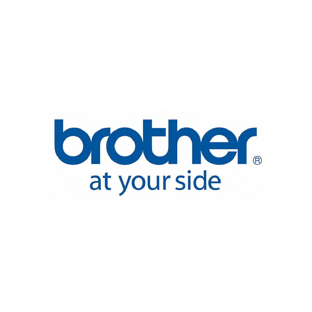 Fita p/ Rotulador TZS151 24mm Preto sobre Transparente Brother
