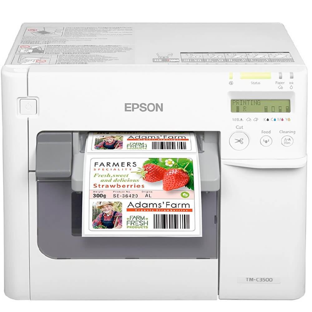Impressora de Etiquetas ColorWorks TMC-3500 Epson