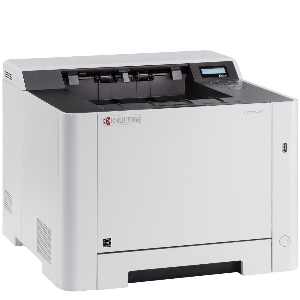 Impressora Laser Colorida Ecosys P5021CDN Kyocera