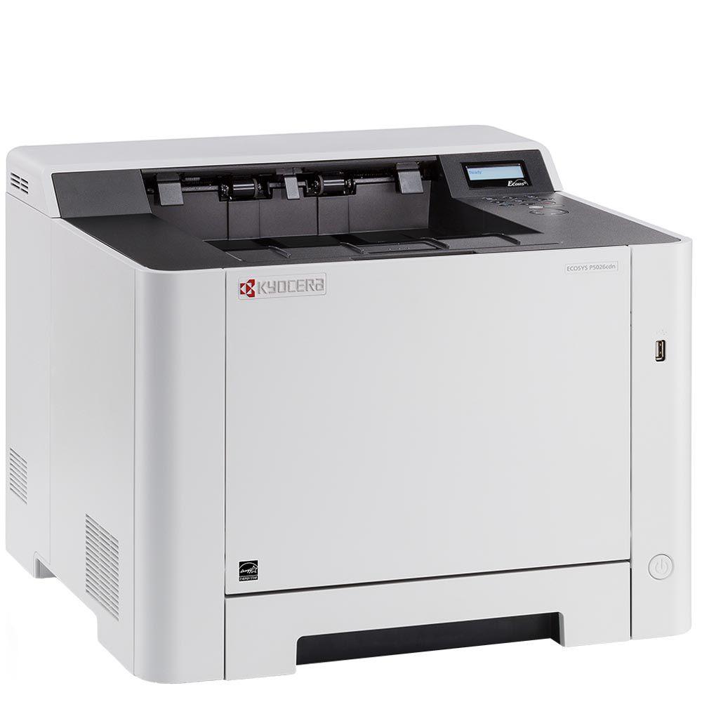 Impressora Laser Colorida Ecosys P5026CDN Kyocera