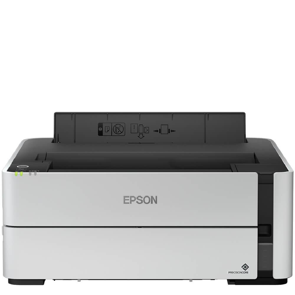 Impressora Convencional Epson Ecotank C11cg94302 M1180 Jato de Tinta Monocromática Usb, Ethernet e Wi-fi Bivolt