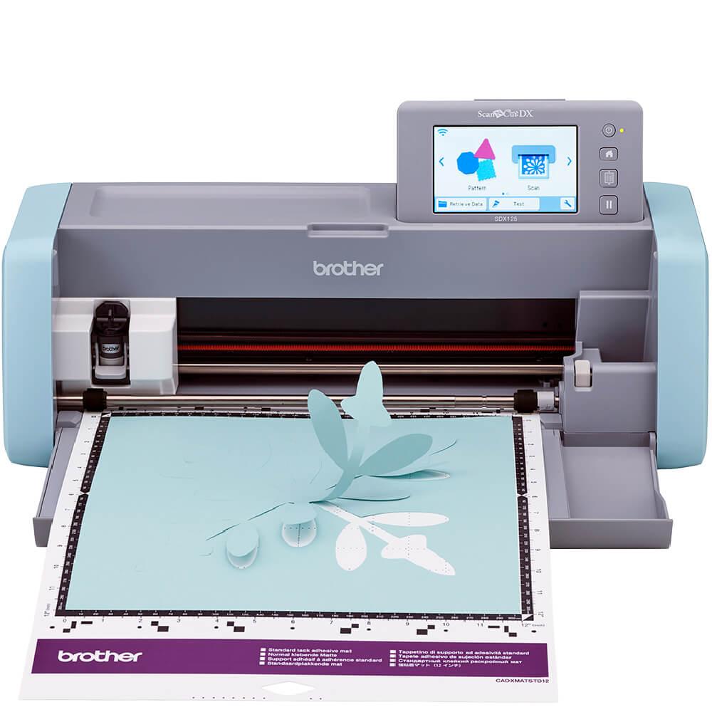 Máquina de Corte Brother ScanNCut SDX125 Com Scanner 110V + Kit Empreendedor Reis Office