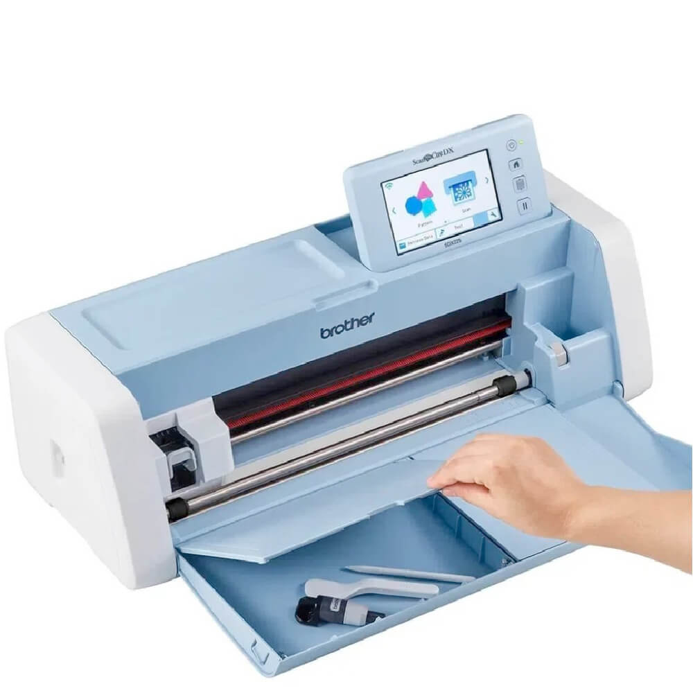 Máquina de Corte Brother ScanNCut SDX225 Com Scanner 110V + BRINDE KIT MINI FERRAMENTAS