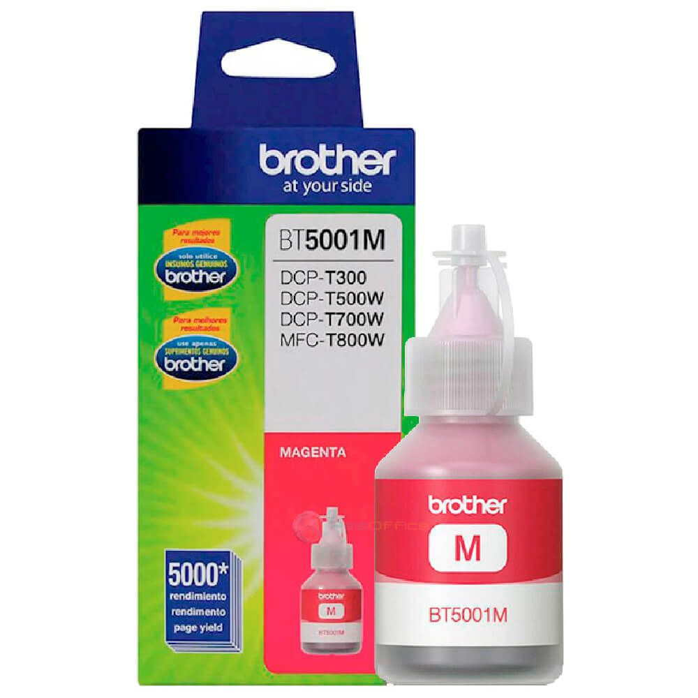 Refil de Tinta Brother BT5001M Magenta