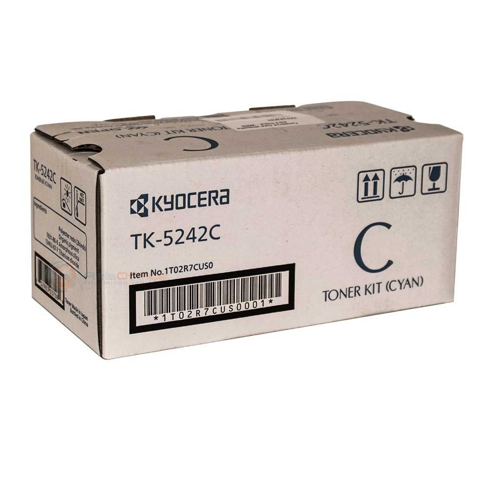 Cartucho de Toner Kyocera TK5242C Ciano