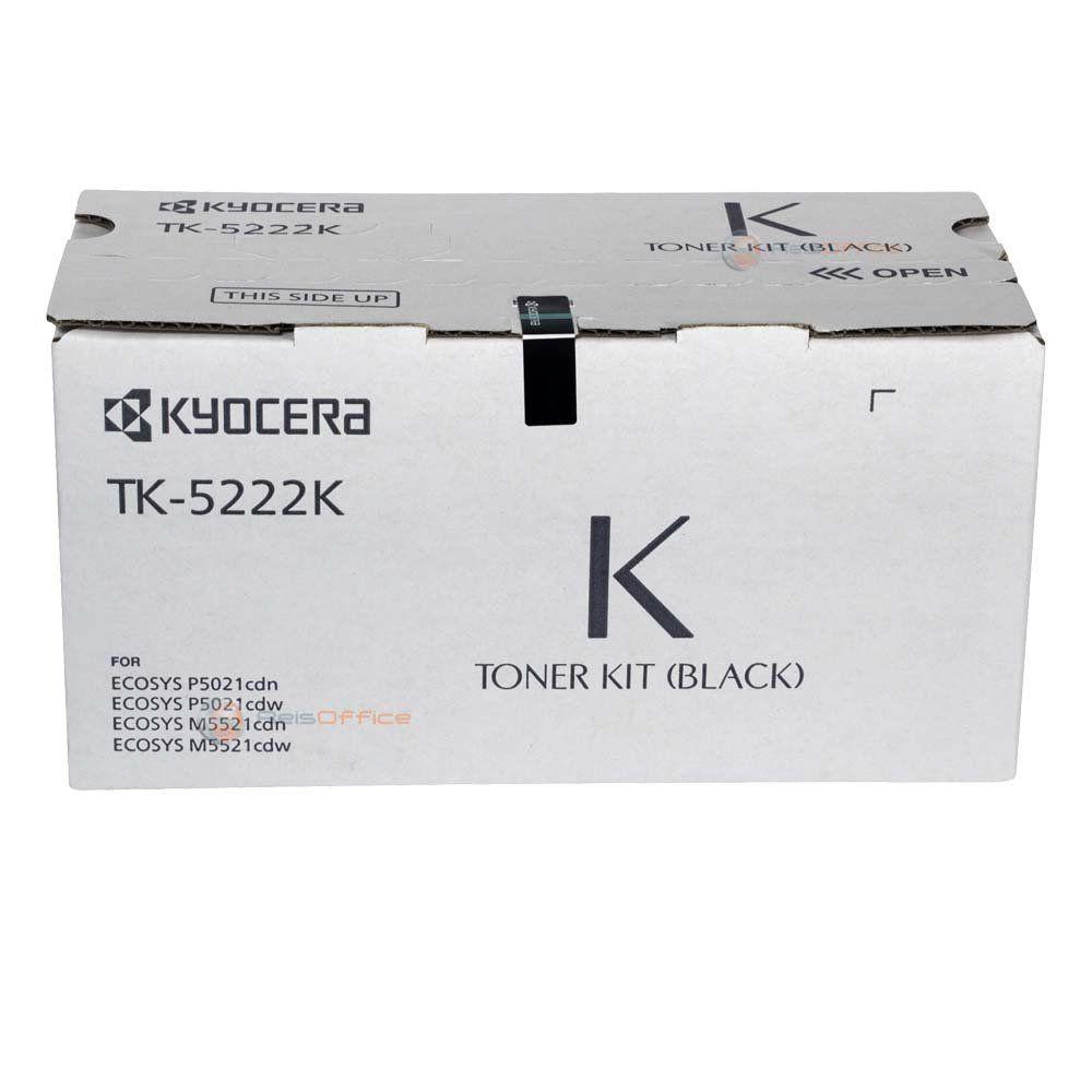 Cartucho de Toner Kyocera TK5222K Preto