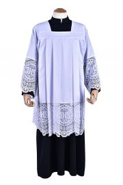 Liturgical Lace JHS Surplice SO043